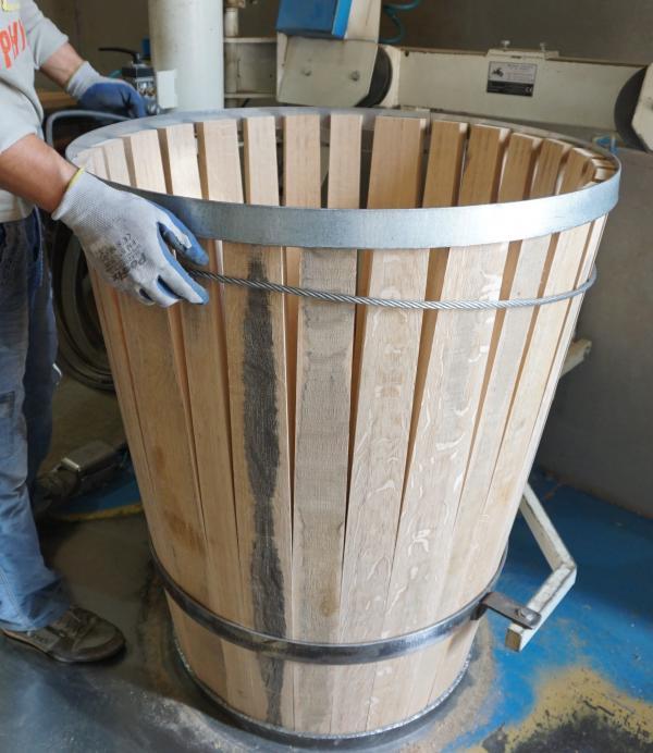 J.M. Goncalves Oak Barrel making